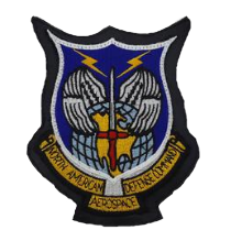 North American Aerospace Defense Command Patch- leather- color