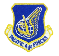 Pacific Air Force Patch - color