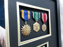 Air Medal, Army Commendation, Good Conduct Medal