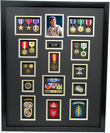 20 Quot X 29 Quot Special Forces Shadow Box Display Military