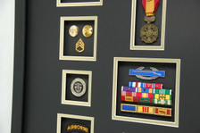 Brass, SF Coin, CIB, Ribbon Rack, Vietnam Gallantry Medal