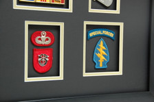 Berret Patches & Special Forces Patch w/ Tab