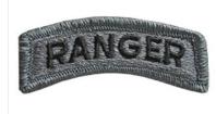 Ranger Tab Patch- ACU