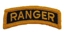 Ranger Tab Patch- color