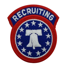 Recruiting Command Patch- color