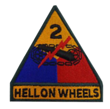 2nd Armored Division Patch- color