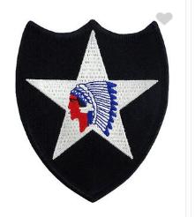 Second Infantry Division Patch- color