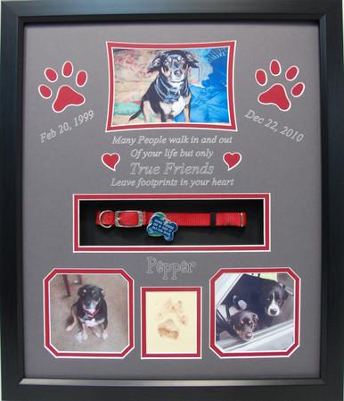 16 x 20 Pet Memorial Shadow Box Frame #17