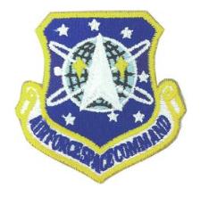 Space Command Patch- w/hook closure- color