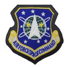Space Command Patch- leather- color