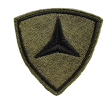 Third Division Patch- subdued (NON-RETURNABLE)