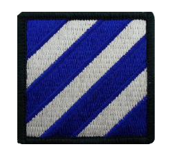 Third Infantry Division Patch- color