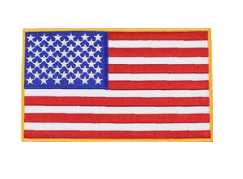 U.S. Flag Patch-Reflective