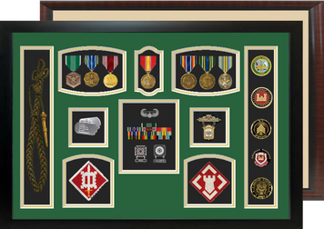"20"" x 28"" Self Mount Military Shadow Box"