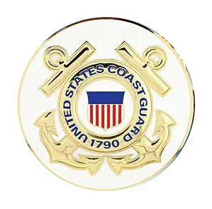 "4"" Honor Medallion- USCG Seal"