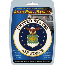 Car/Truck Grill Badges- U.S. Air Force Seal 3""