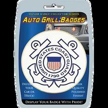 """Car/Truck Grill Badges- U.S. Coast Guard Seal 3"""""""