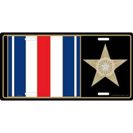 License Plate- Silver Star Medal