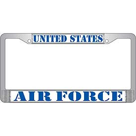 License Plate Frame- United States Air Force