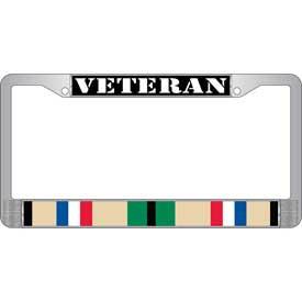 License Plate Frame- Veteran Desert Storm