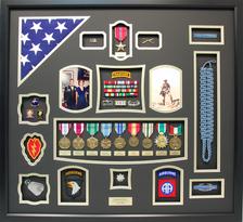 U.S. Army Ranger Shadow Box Display