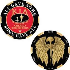 KIA Honor Angel Challenge Coin