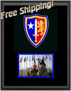 "11"" x 14"" US Army Nato Frame Display"