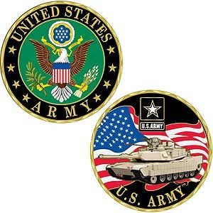 Army Symbol Challenge Coin