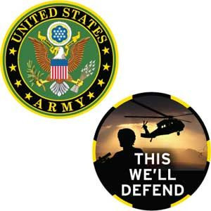 Army This We'll Defend Challenge Coin