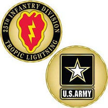 Army 25th Infantry  Division Challenge Coin