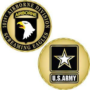 Army 101st Airborne Division Challenge Coin