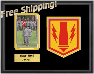 "11"" x 14"" 41st Field Artillery Horizontal Unit Frame w/ Photo"