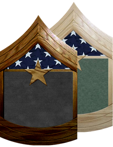 US Army E-9 SGT Major Shadow Box Display w/ Flag