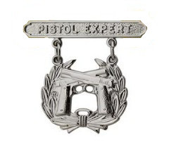 Marine Corps Qualification Badge: Pistol Expert