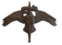 Marine Corps Badge: MARSOC Subdued Metal Marine Corps Forces Special Operations Command