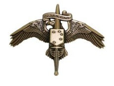 Marine Corps Miniature Badge: MARSOC Bronze Marine Corps Forces Special Operations Command