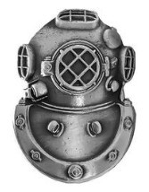 Badge: Diver Second Class - oxidized