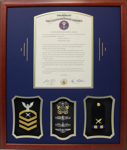 Presidential Letter Chief Warrant Officer