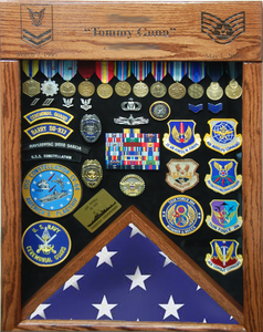 USAF Lazer Top Shadowbox