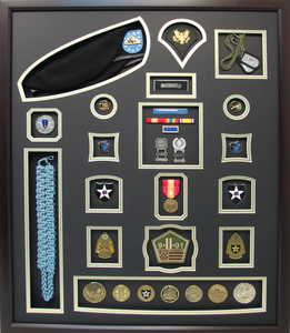 US Army Infantry Shadow Box Display