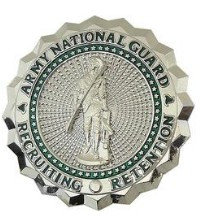 Army Identification Badge: Army National Guard Recruiting and Retention