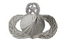 Air Force Badge: Acquisition: Master - regulation size