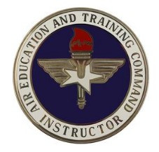Air Force Badge: Air Education and Training Command: Instructor