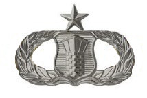 Air Force Badge: Air Traffic Control: Senior - regulation size