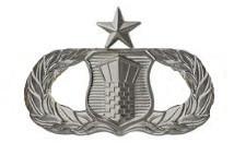 Air Force Badge: Air Traffic Control: Senior - regulation size