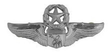 Air Force Badge: Astronaut: Master