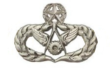Air Force Badge: Civil Engineer: Master - regulation size