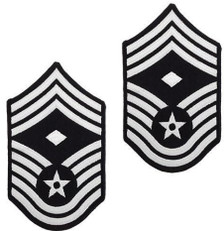 Air Force Embroidered Chevron: Master Sergeant: 1st Sgt - color