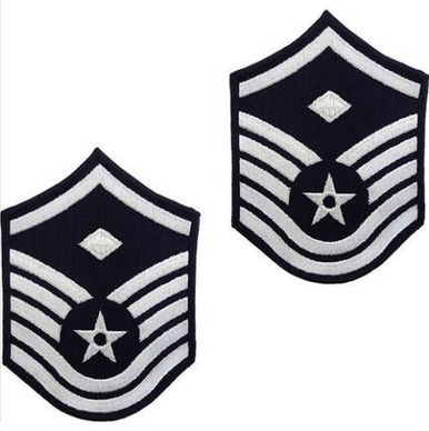 Air Force Chevron: Chief Master Sergeant: 1st Sgt - color