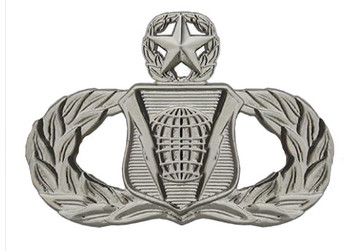 Air Force Badge: Command and Control: Master - regulation size